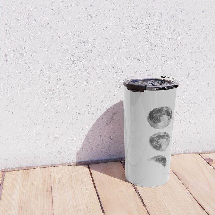 Moon Phase Wall Art Moon Home Decor Moon Phases Nursery Decor Poster Minimalist Print Gothic Boho Travel Mug