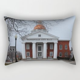 Painesville City Hall Rectangular Pillow
