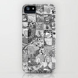 Doodling Together #2 iPhone Case