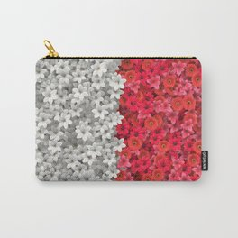Boundary Flowers Carry-All Pouch