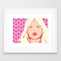phil jones Framed Art Prints featuring Jones by Conor Macleod