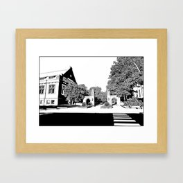 bloomington III Framed Art Print