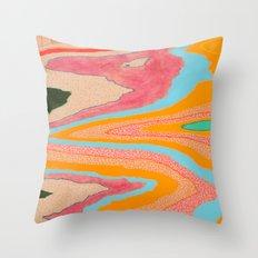landslide Throw Pillow