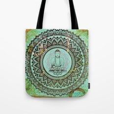 buddha lotus Tote Bag