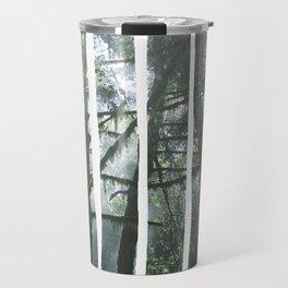 Redwoods in Fog, Oregon (effect) Travel Mug
