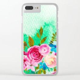 Flowers bouquet #41 Clear iPhone Case