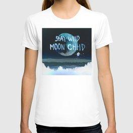 Stay wild moon child (dark) T-shirt