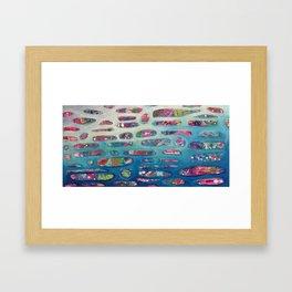 Ocean Commotion Framed Art Print