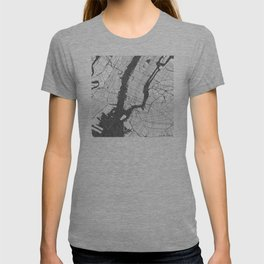 New York - Ink lines T-shirt