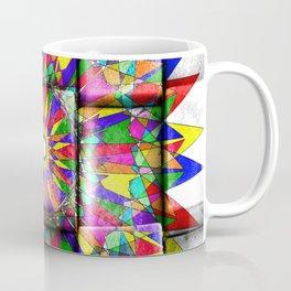 rainbow spiro on blocks Coffee Mug