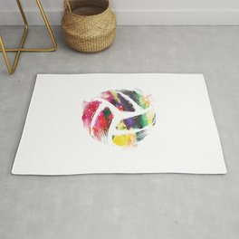Volleyball Artwork | Team Sports Player Coach Gifts Rug
