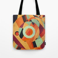 circus Tote Bags featuring Circus by VessDSign