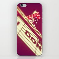 theatre iPhone & iPod Skins featuring Theatre by Theresa O'Neill