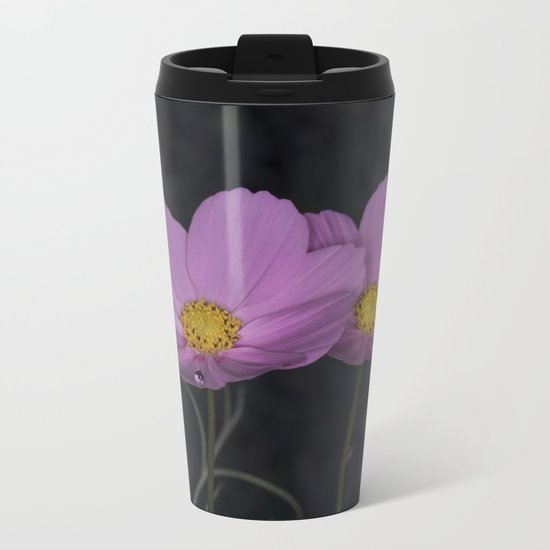 Cosmos water drop Metal Travel Mug