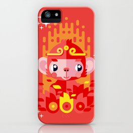 Fire Monkey Year iPhone Case
