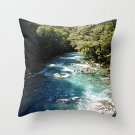 Lake Marian, New Zealand Throw Pillow