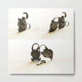Locked: A Love Story Metal Print