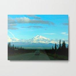 St Elias Mountain Range  Metal Print