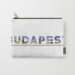 budapest text Carry-All Pouch