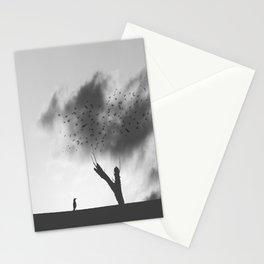embrace the struggle Stationery Cards