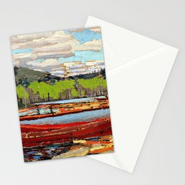 Tom Thomson - Boats - Digital Remastered Edition Stationery Cards