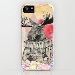sir Elk iPhone Case
