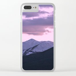 Pink Colorado Clear iPhone Case