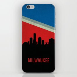 Milwaukee Skyline iPhone Skin