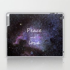 Peace and love. Christmas time. Laptop & iPad Skin