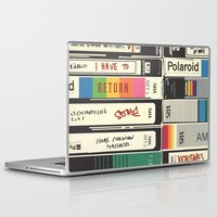 american psycho Laptop & iPad Skins featuring American Psycho by r054