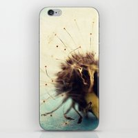 coconut wishes iPhone & iPod Skins featuring wishes by Beverly LeFevre