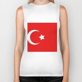 turkey flag Biker Tank