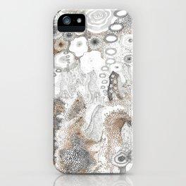 """Gray"" illustration iPhone Case"