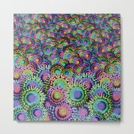 Fish Flower Color Metal Print
