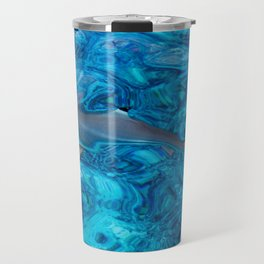 Baby Shark in the Turquoise Water. Production by Nature Travel Mug