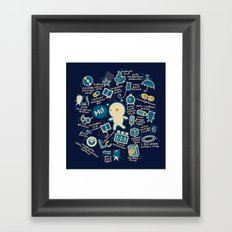 AWESOME BIBI'S GADGETS Framed Art Print
