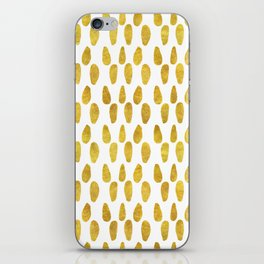 Polka Dot Party V iPhone Skin