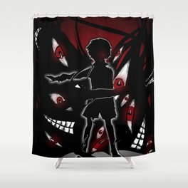 The Obscure Pride V2. Shower Curtain