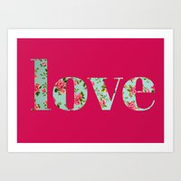 Amor a la antigua Art Print