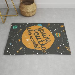 You're Outta This World Rug