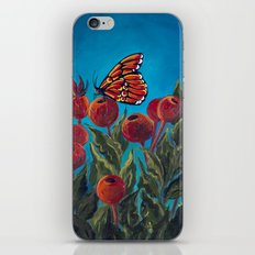 Butterfly in Rose Hips iPhone & iPod Skin
