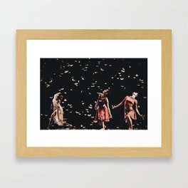 Dancing finale Framed Art Print