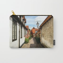 Narrow streets of Ribe Carry-All Pouch