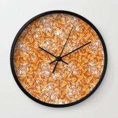 Trompe-l'œil - Starfruit vs. Autumn Wall Clock