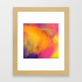 Colorful mix Framed Art Print