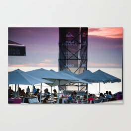 La centrale, Hossegor, France Canvas Print