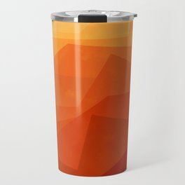 Stratum 3 Orange Travel Mug