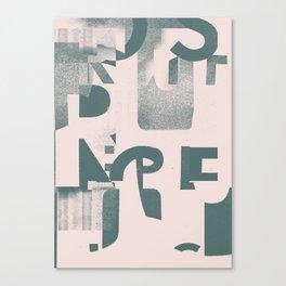 Typefart 005 Canvas Print