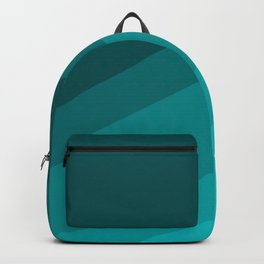 Colorblock in Turquoise Backpack