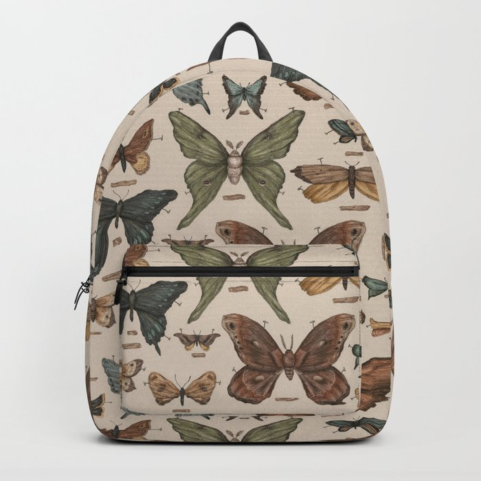 Butterflies and Moth Specimens Backpack